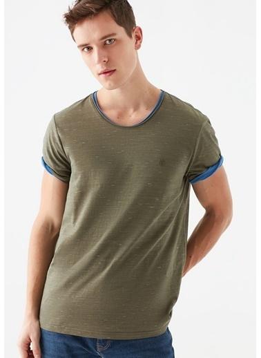 Mavi  Basic Tişört Yeşil